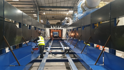 Major Tunnel Kiln Project Progression - Churchill Get A New 48 Metre Fast Fire Tunnel Kiln, Manufactured & Installed By Therser UK