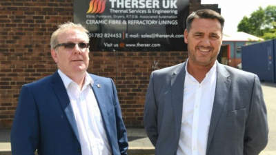Double Celebration For Staffordshire Kiln Specialist After Landing Major New Contract