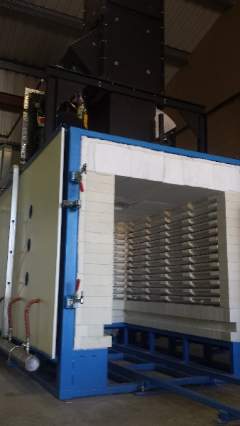 Electrically Fired Kiln for Ceramic Cores