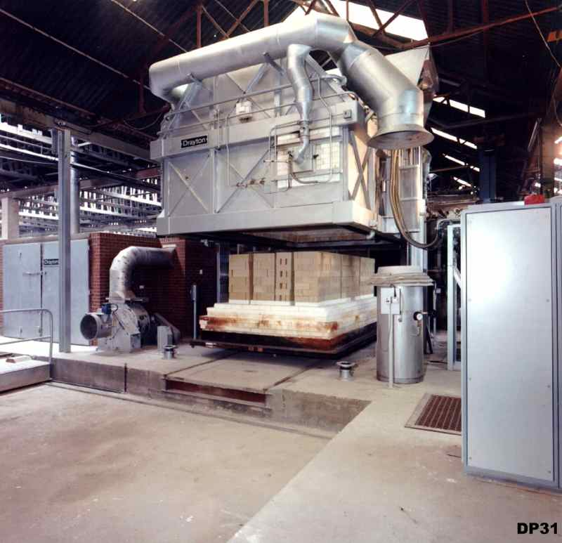 Lifting Hood Kiln for Refractories